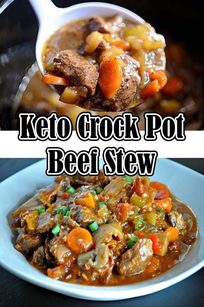 Stew Meat Recipes Crock Pot Keto  Keto Crock Pot Beef Stew Recipe – Mekarlab