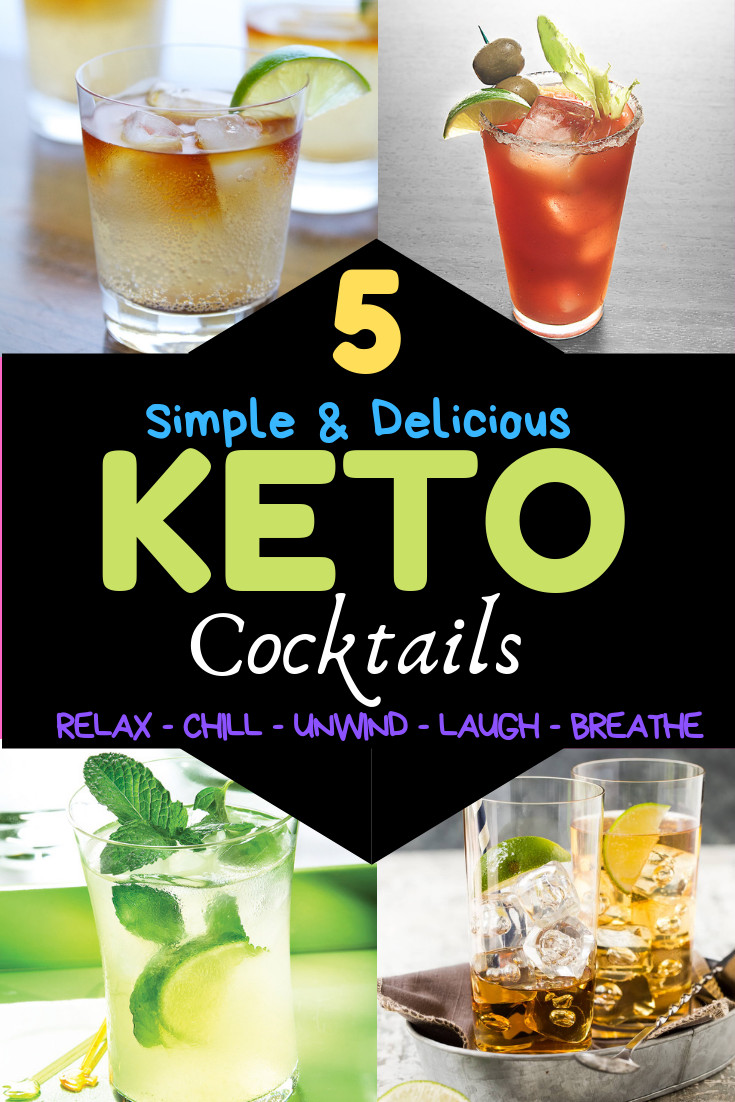 Summer Keto Drinks Alcohol  Keto Cocktails 5 Keto Friendly Drinks You do not have