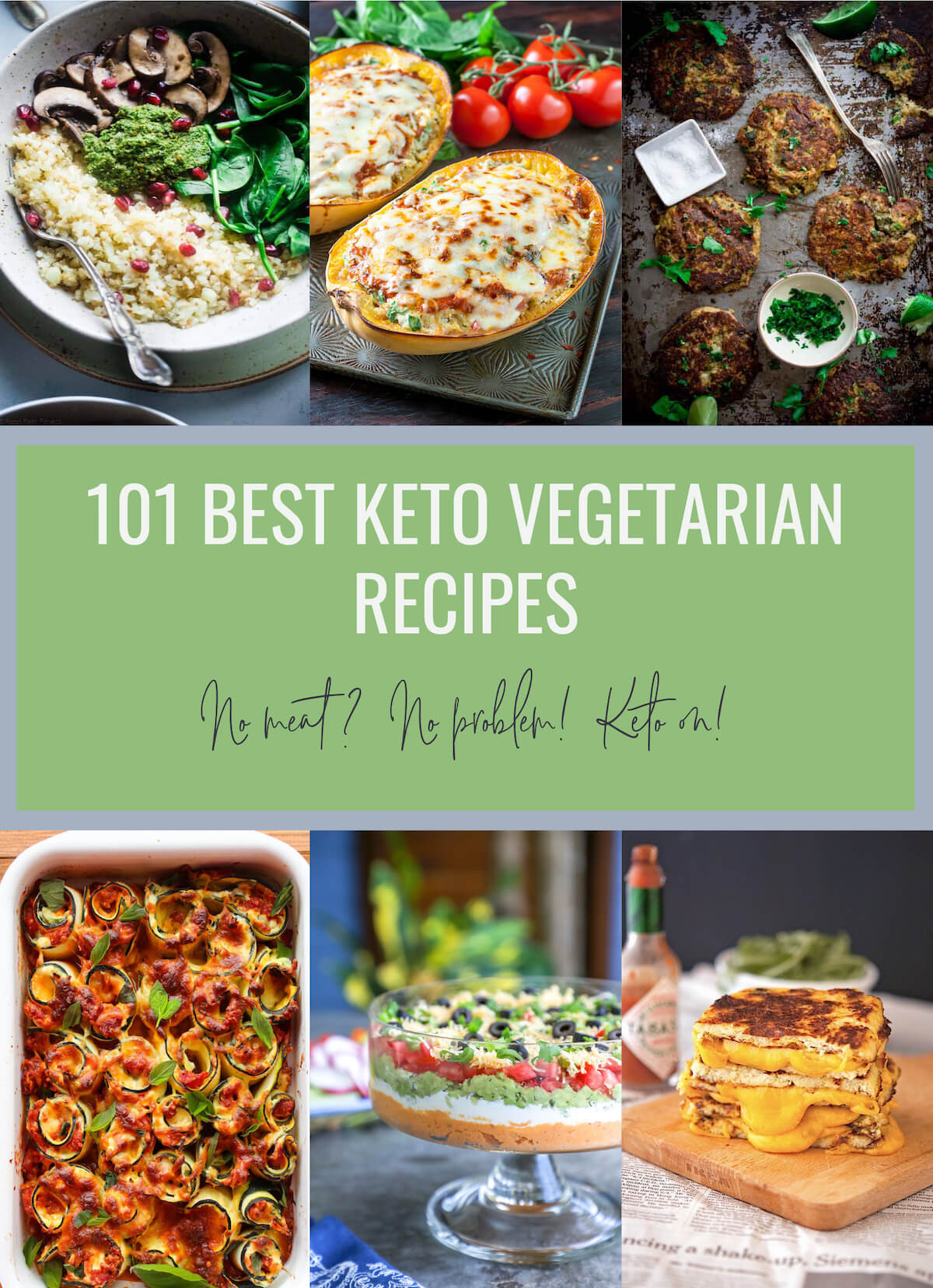 Vegetarian Keto Dinner  101 Best Keto Ve arian Recipes Low Carb