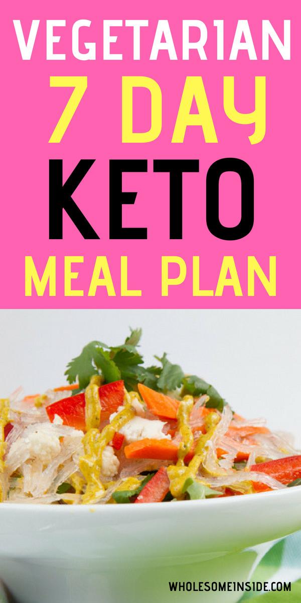 Vegetarian Keto Plan Easy 7 Day Ve arian Keto Meal Plan