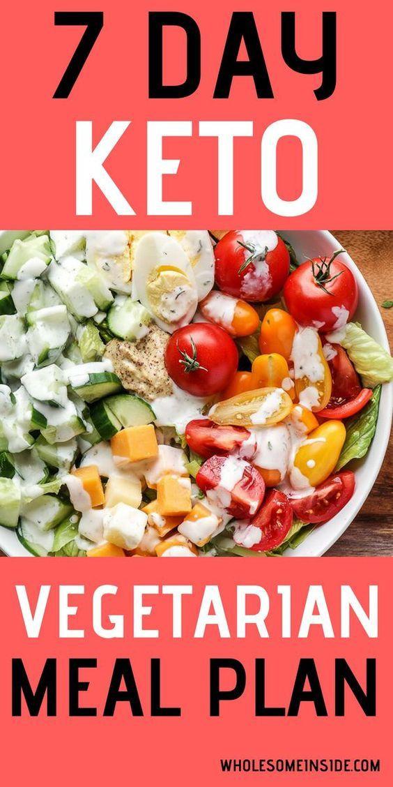Vegetarian Keto Plan Easy 7 Day Ve arian Keto Meal Plan Easy Recipes Healthy in