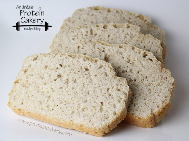 Whey Protein Bread  Protein Oat Bread Andréa s Protein Cakery