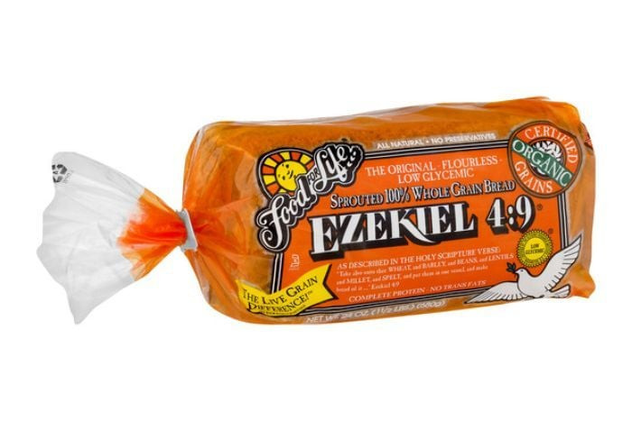 Whole Wheat Bread Low Carb  Food For Life Ezekiel 4 9 Sprouted Whole Grain Bread