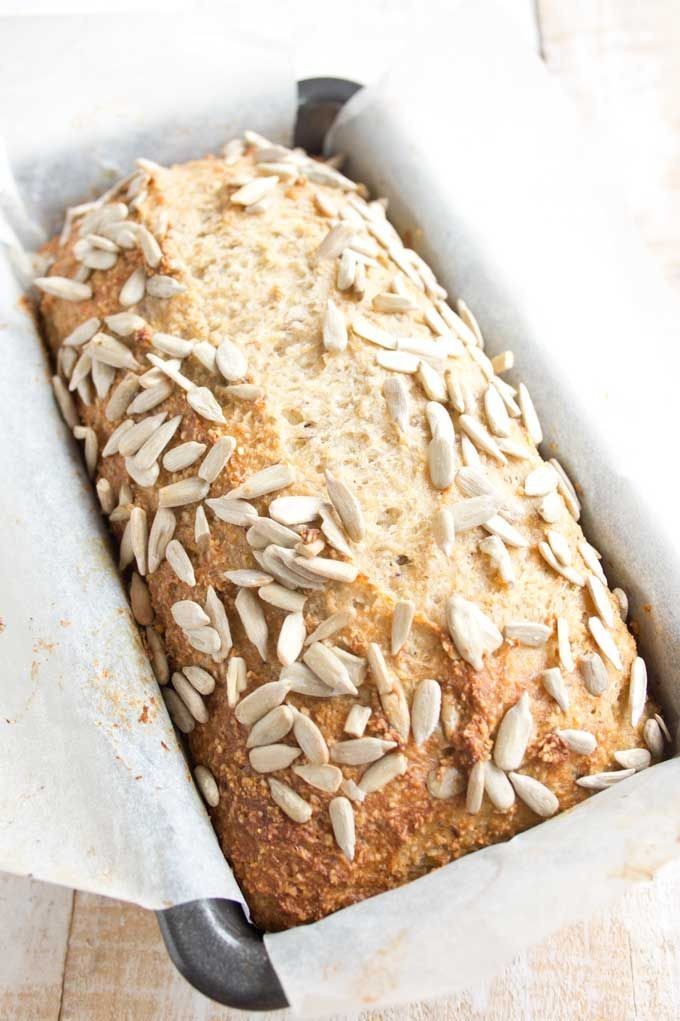 Whole Wheat Bread Low Carb  An easy everyday low carb bread with a texture just like
