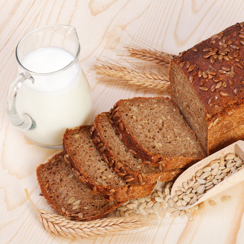 Whole Wheat Bread Low Carb  Low carb whole grain bread high in protein 2 slices