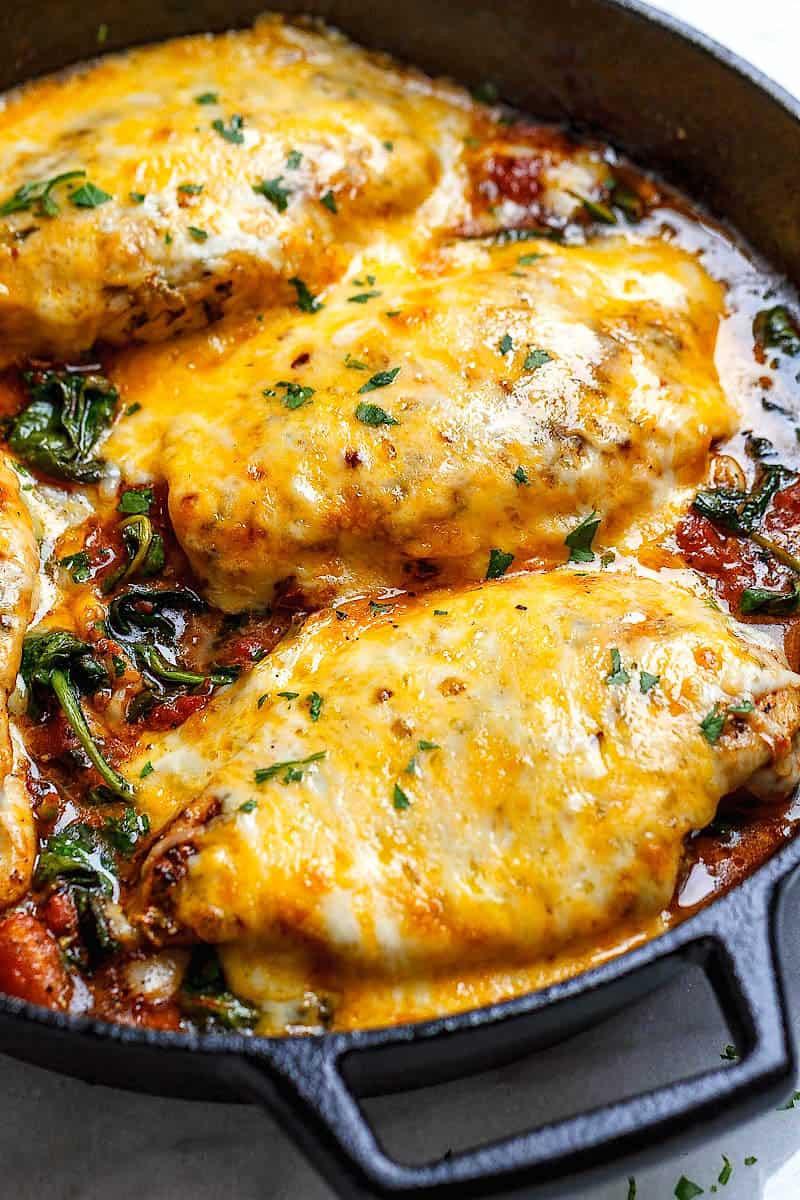 Yummy Keto Dinners  13 Delicious Keto Chicken Recipes • The Wicked Noodle