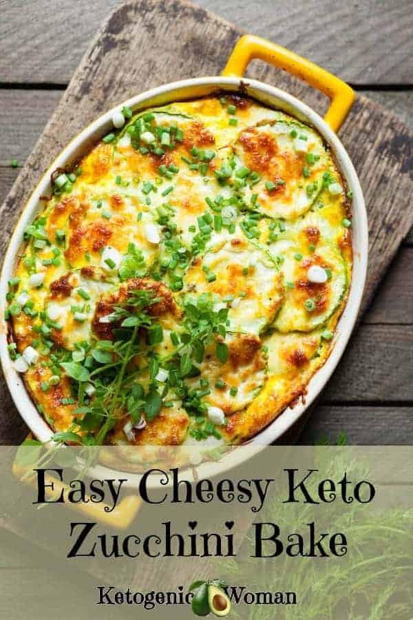 Zucchini Keto Casserole  Easy Zucchini Casserole Cheesy Low Carb Keto and