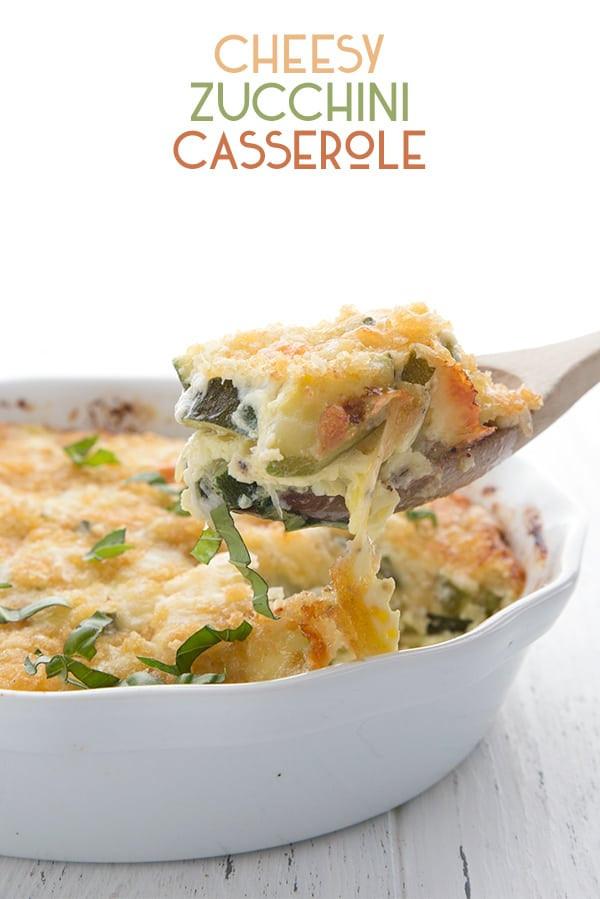 Zucchini Keto Casserole  Cheesy Zucchini Casserole Recipe