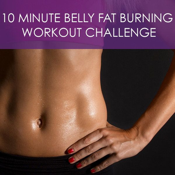 10 Minute Fat Burning Workout  10 Minute Belly Fat burning Workout Challenge