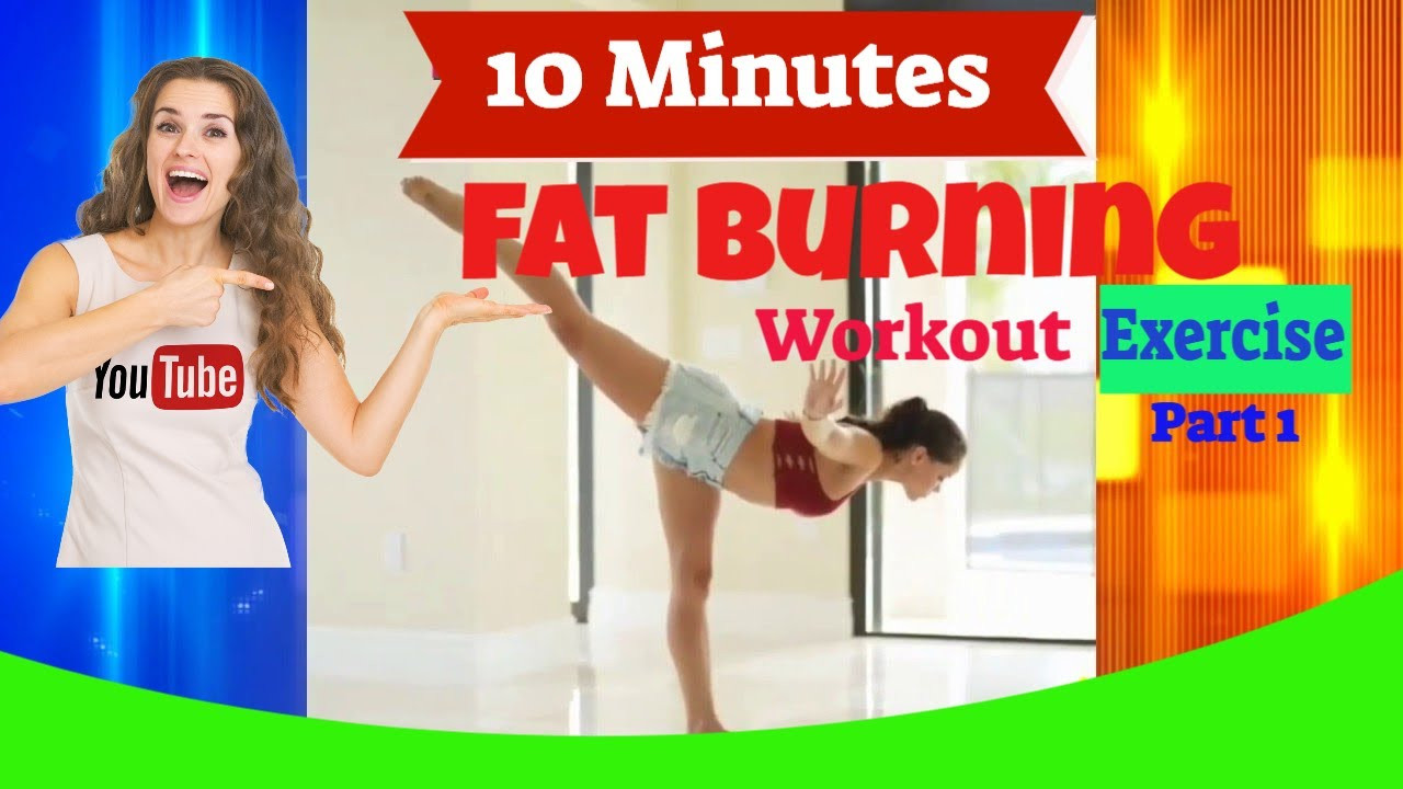 10 Minute Fat Burning Workout  10 Minutes Fat Burning workout for Women