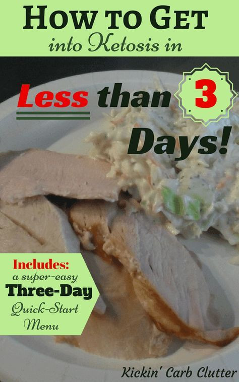 3 Day Ketosis Diet  How to Get Into Ketosis in Less Than 3 Days