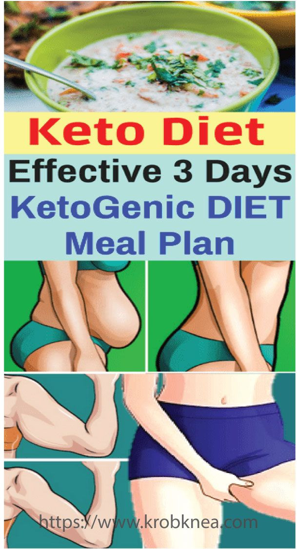 3 Day Ketosis Diet  Effective 3 Days KetoGenic DIET Meal Plan in 2020