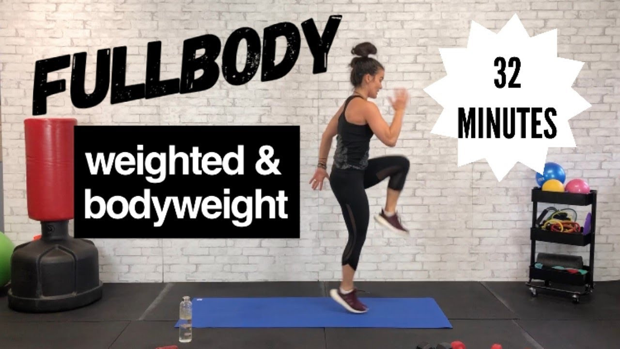30 Minute Fat Burning Workout  FULLBODY FAT BURNING 30 MINUTE WORKOUT