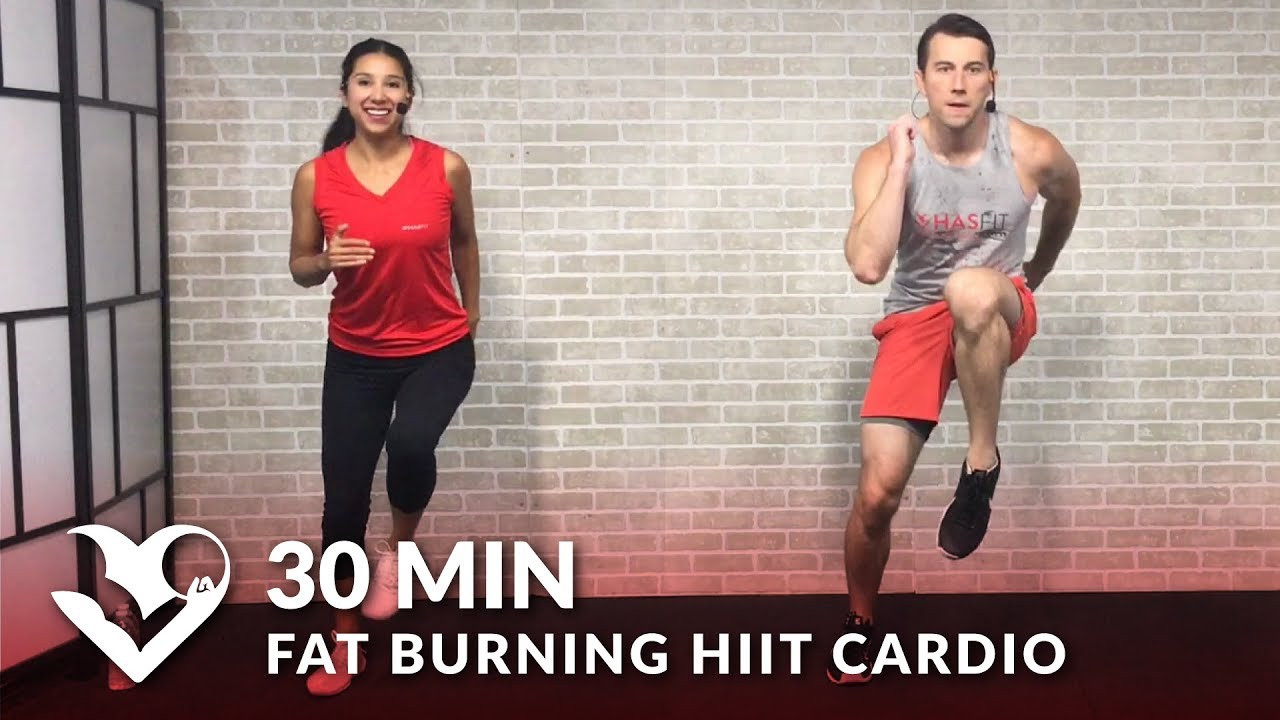 30 Minute Fat Burning Workout  30 Minute Fat Burning HIIT Cardio Workout at Home for