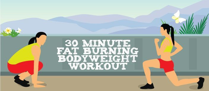 30 Minute Fat Burning Workout  573 best images about Fitness on Pinterest