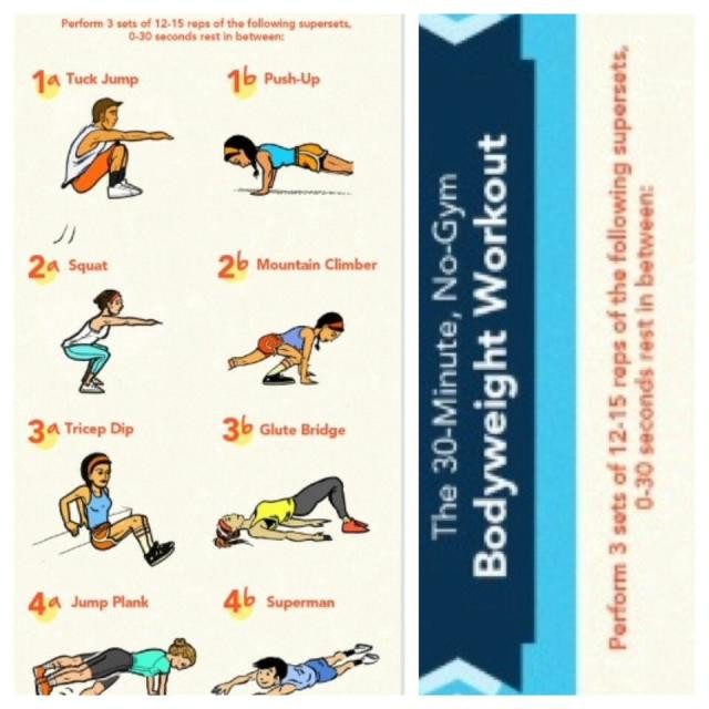 30 Minute Fat Burning Workout  Fat Burning 30 Minute Workout