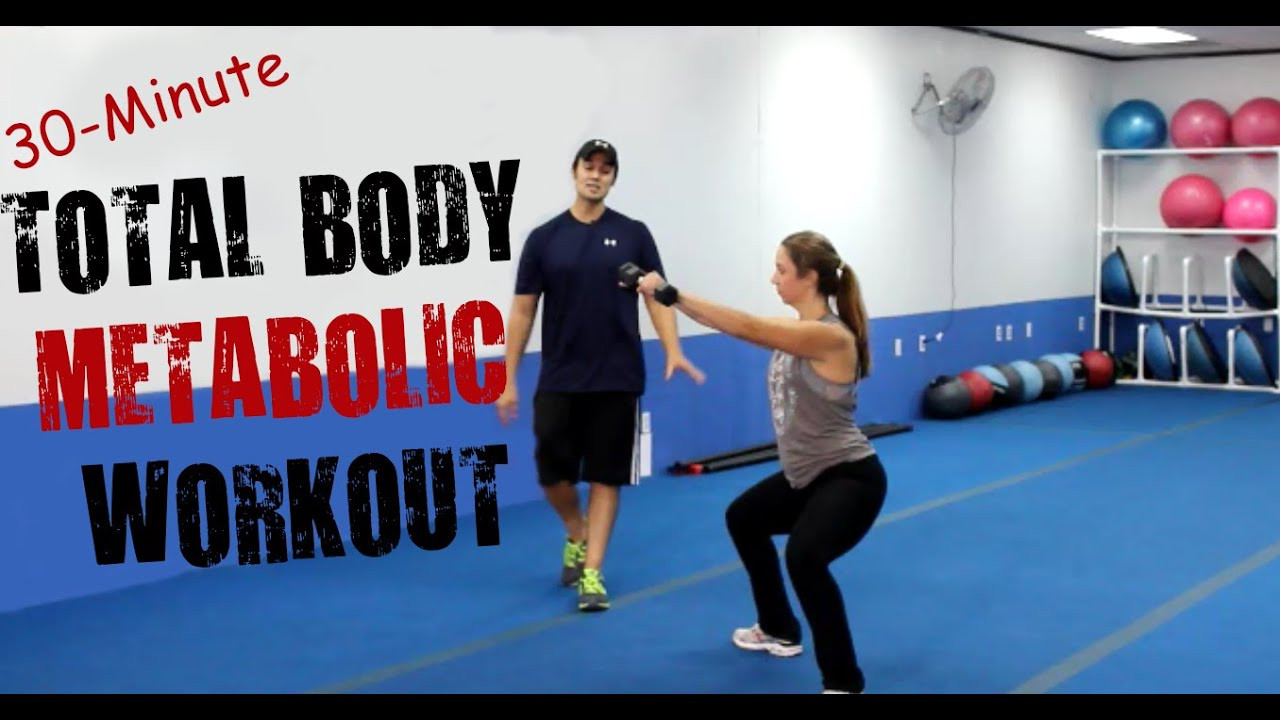 30 Minute Fat Burning Workout  30 Minute Fat Burning Total Body Metabolic Workout