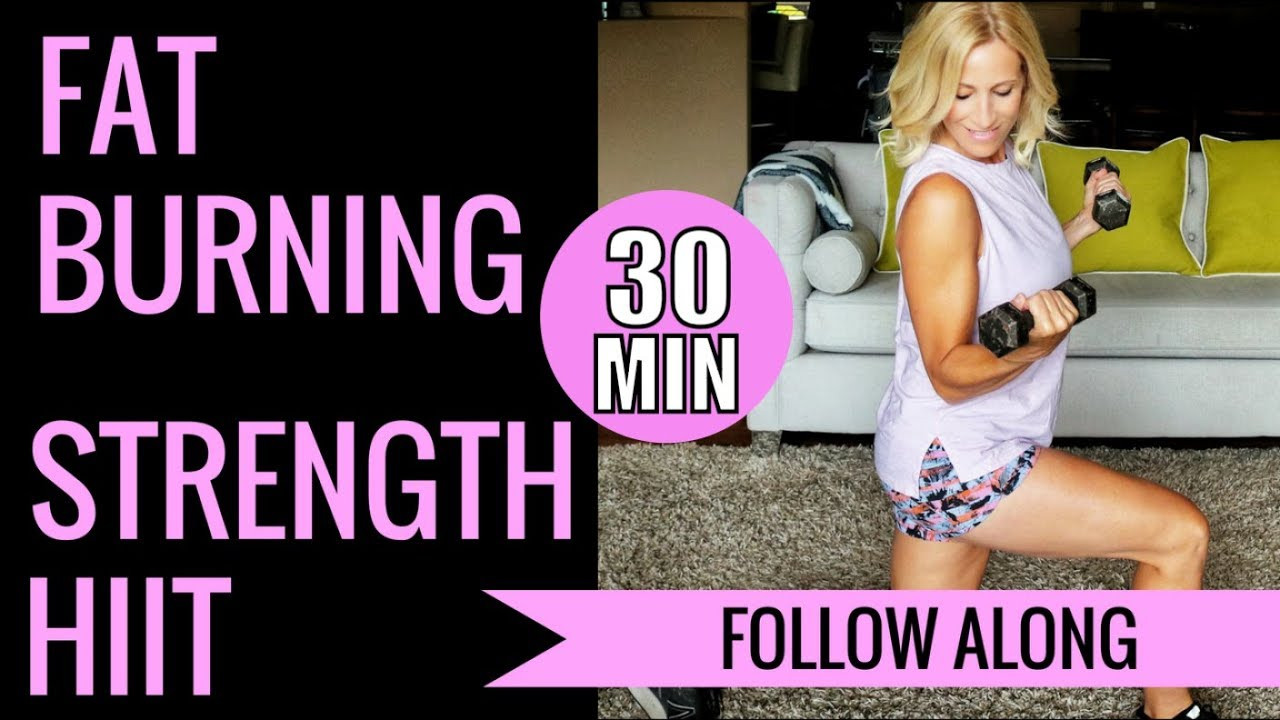 30 Minute Fat Burning Workout  30 Minute Fat Burning Strength HIIT Workout 🔥350 Calories