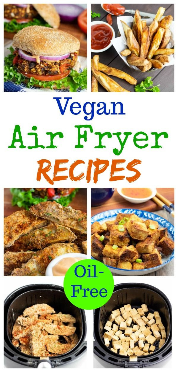 Air Fryer Plant Based Recipes  Air Fryer Recipes French Fries Tempura & Burgers in