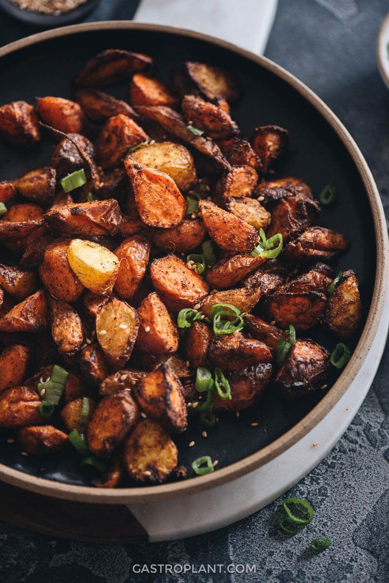 Air Fryer Plant Based Recipes  Air Fryer Carrots Recipe
