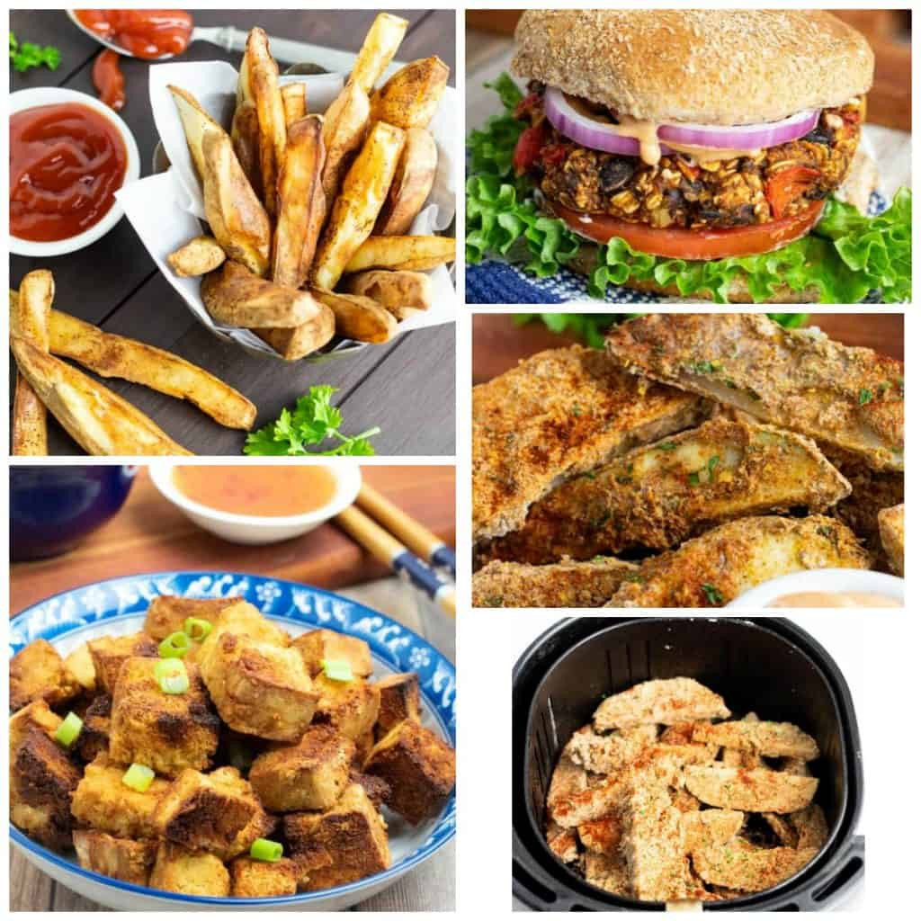 Air Fryer Plant Based Recipes  Best Vegan Air Fryer Recipes