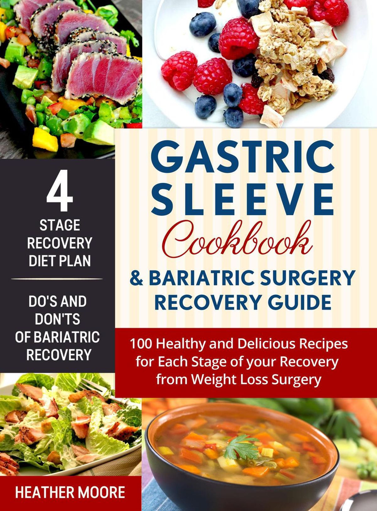 Bariatric Chicken Recipes Weight Loss Surgery  Gastric Sleeve Cookbook & Bariatric Surgery Recovery Guide