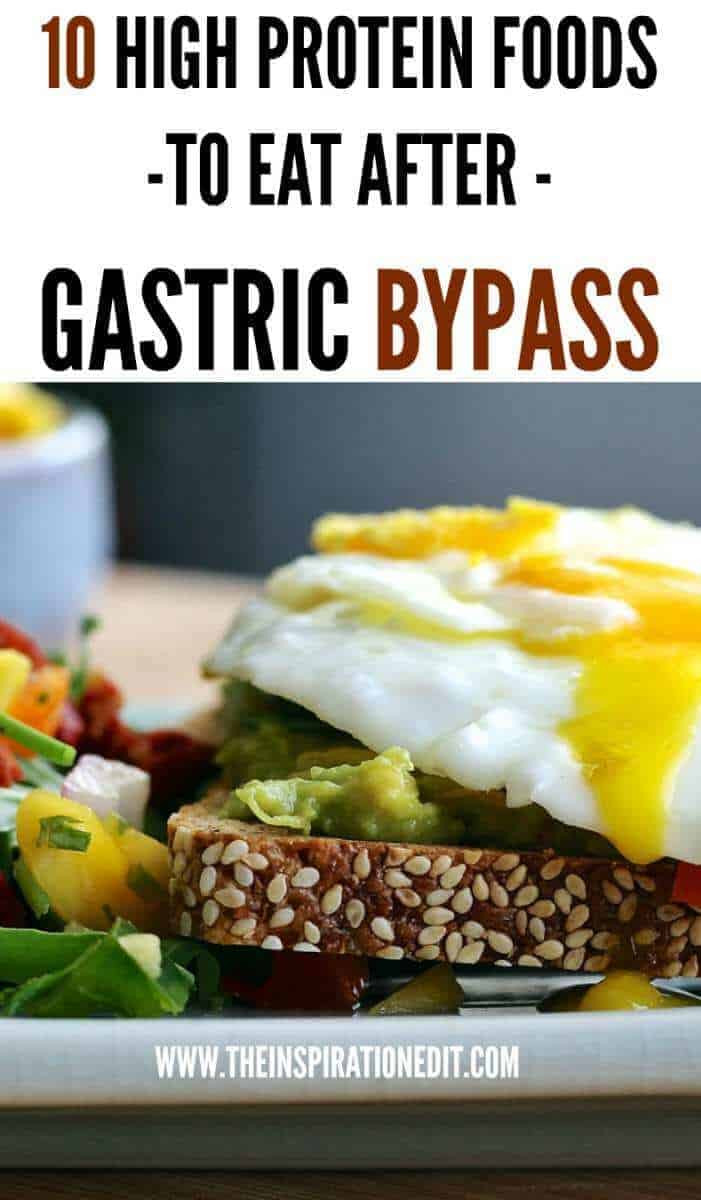 Bariatric Recipes Sleeve Protein Weight Loss Surgery  High Protein Foods For Gastric Bypass Patients · The