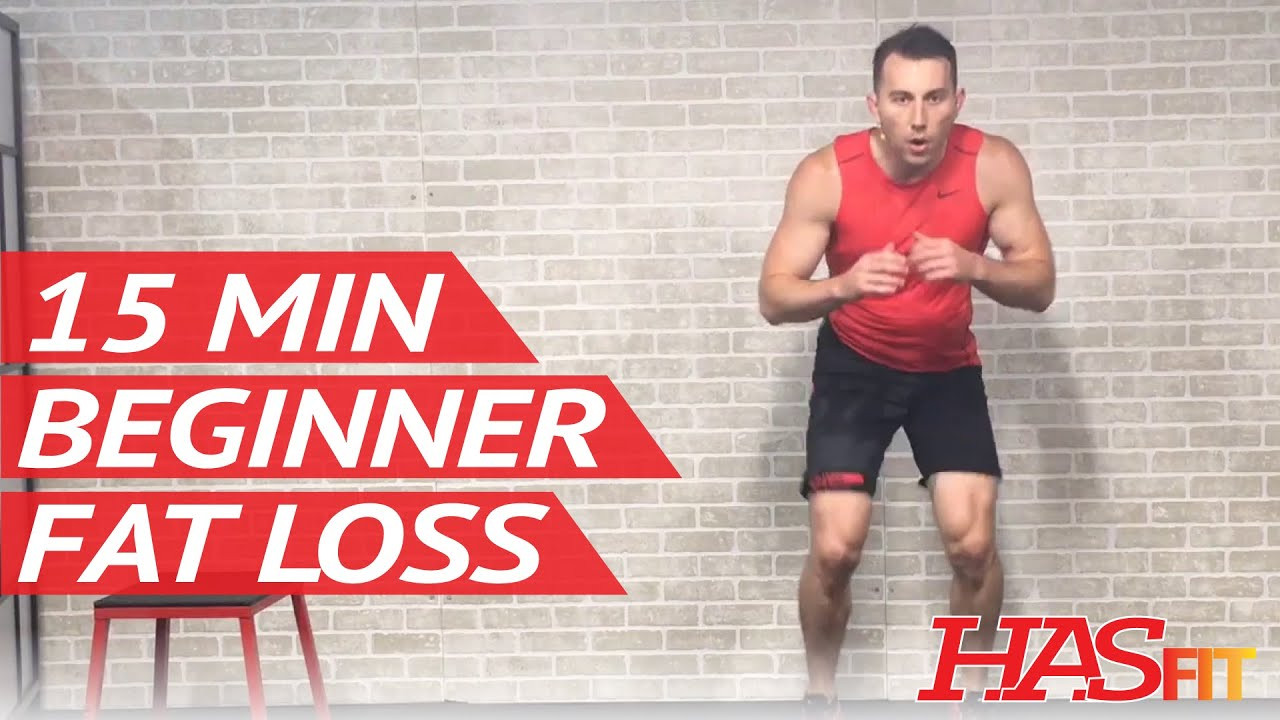 Beginner Fat Burning Workout  15 Min Fat Burning Workout for Beginners Workout Routine