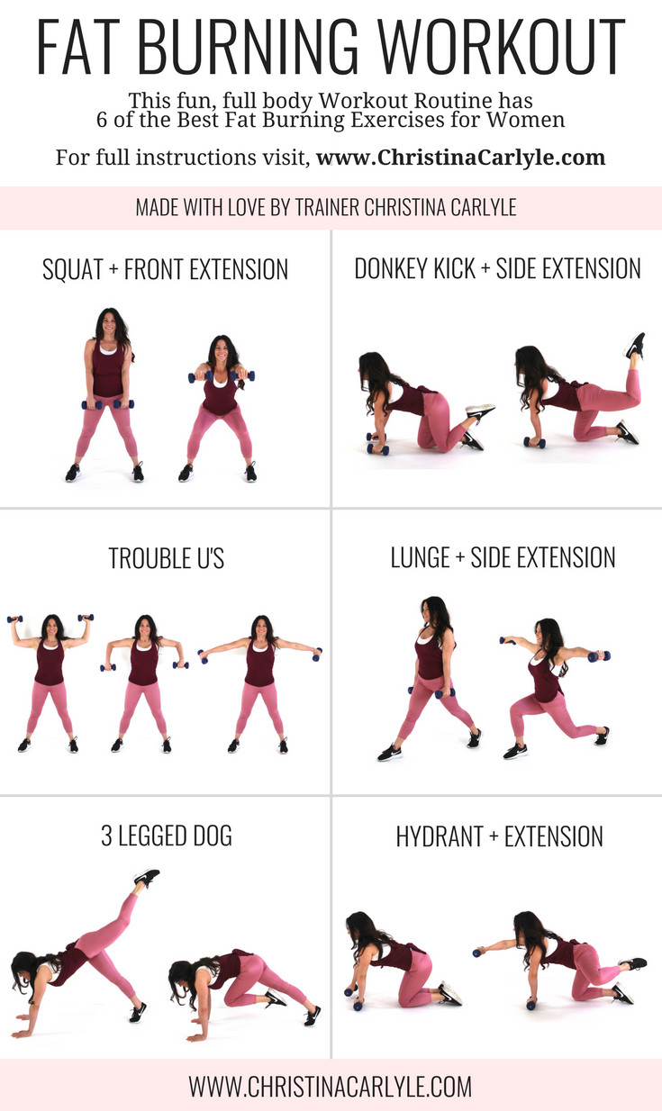 Beginner Fat Burning Workout  Full Body Fat Burning HIIT Workout Routine for Women