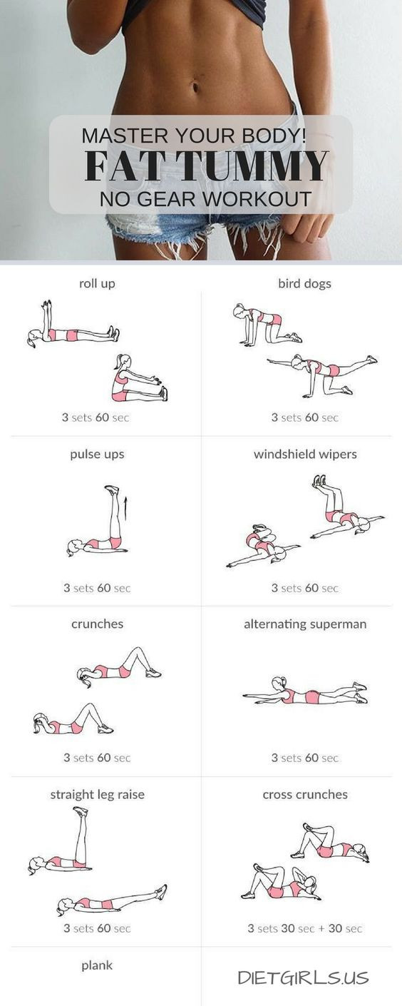 Belly Fat Burning Workout  14 Flat Belly Fat Burning Workouts That Will Help You Lose