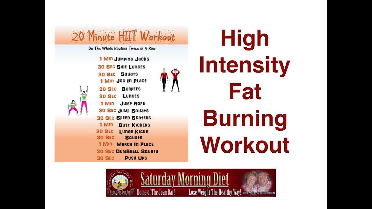 Belly Fat Burning Workout  High Intensity Fat Burning Workout To Burn Belly Fat