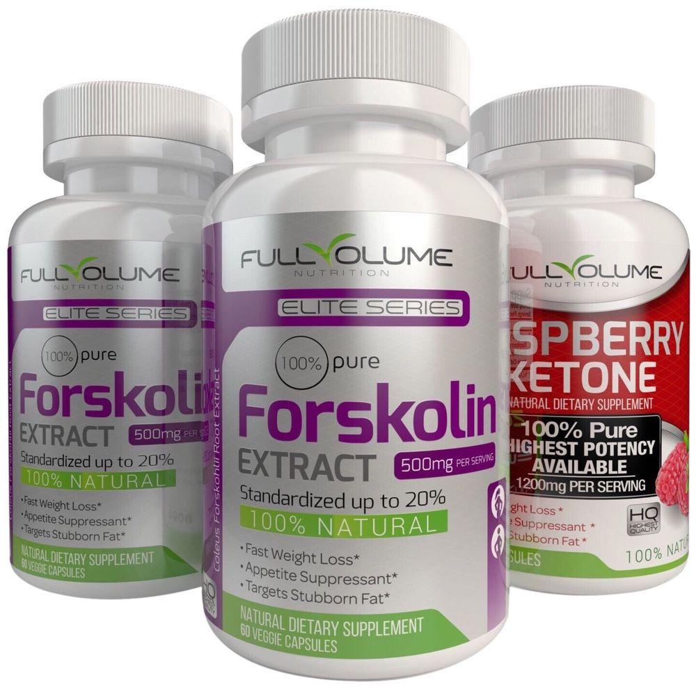 Best Weight Loss Supplements  RASPBERRY KETONE 2X FORSKOLIN Best Diet Pills Weight