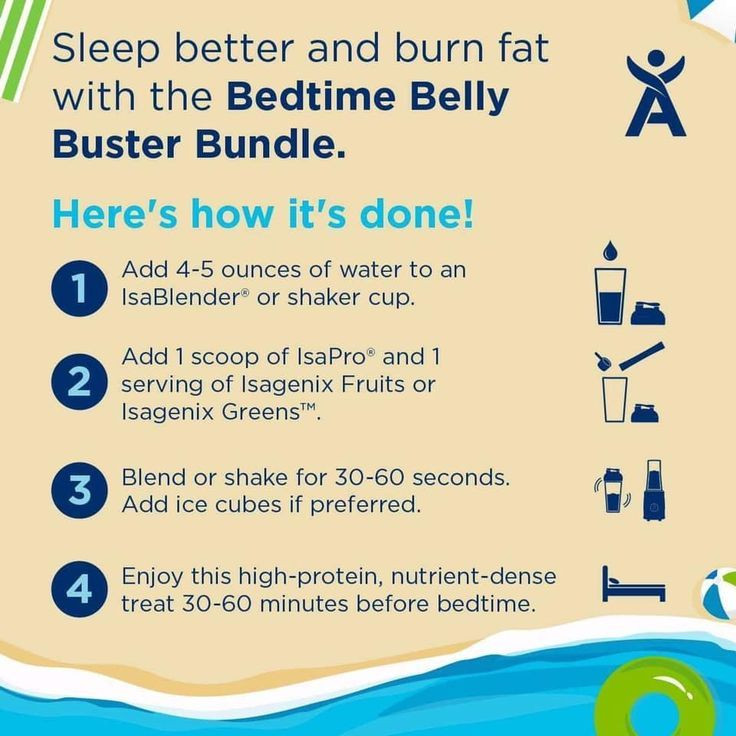 Burn Belly Fat At Night  Pin on Isagenix Products