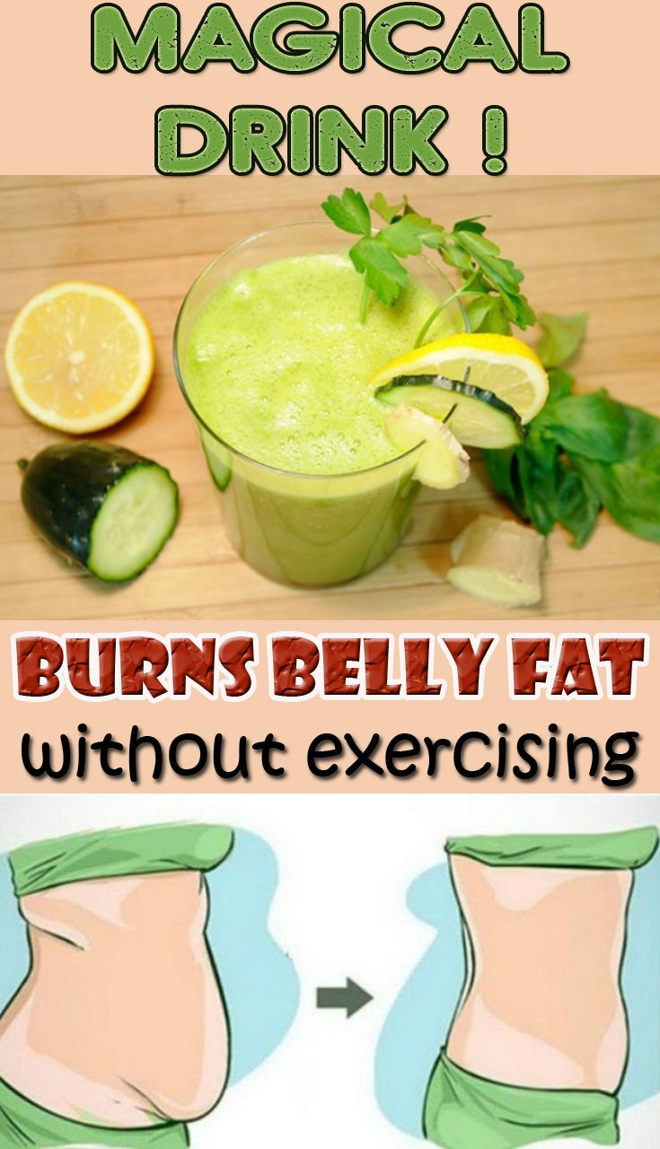 Burn Belly Fat Fast Drink  Pin on Detox and Health Tips