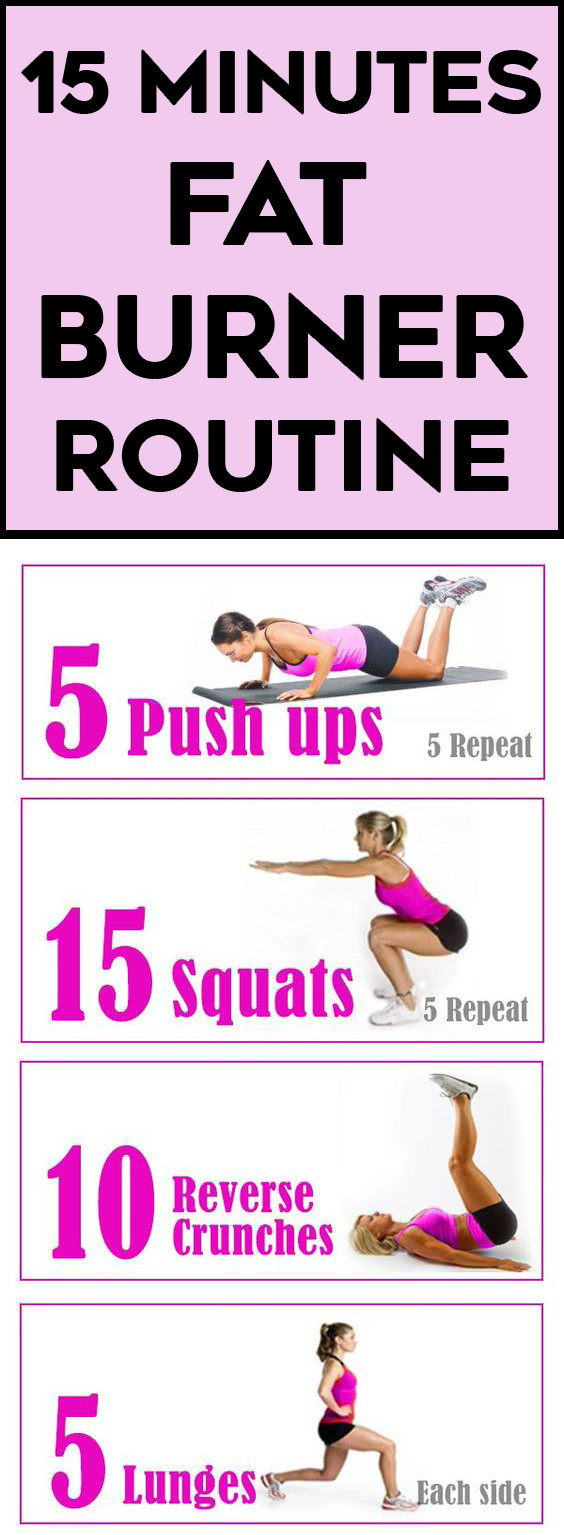 Burn Belly Fat Workout At Home  Pin on Belly Be Gone