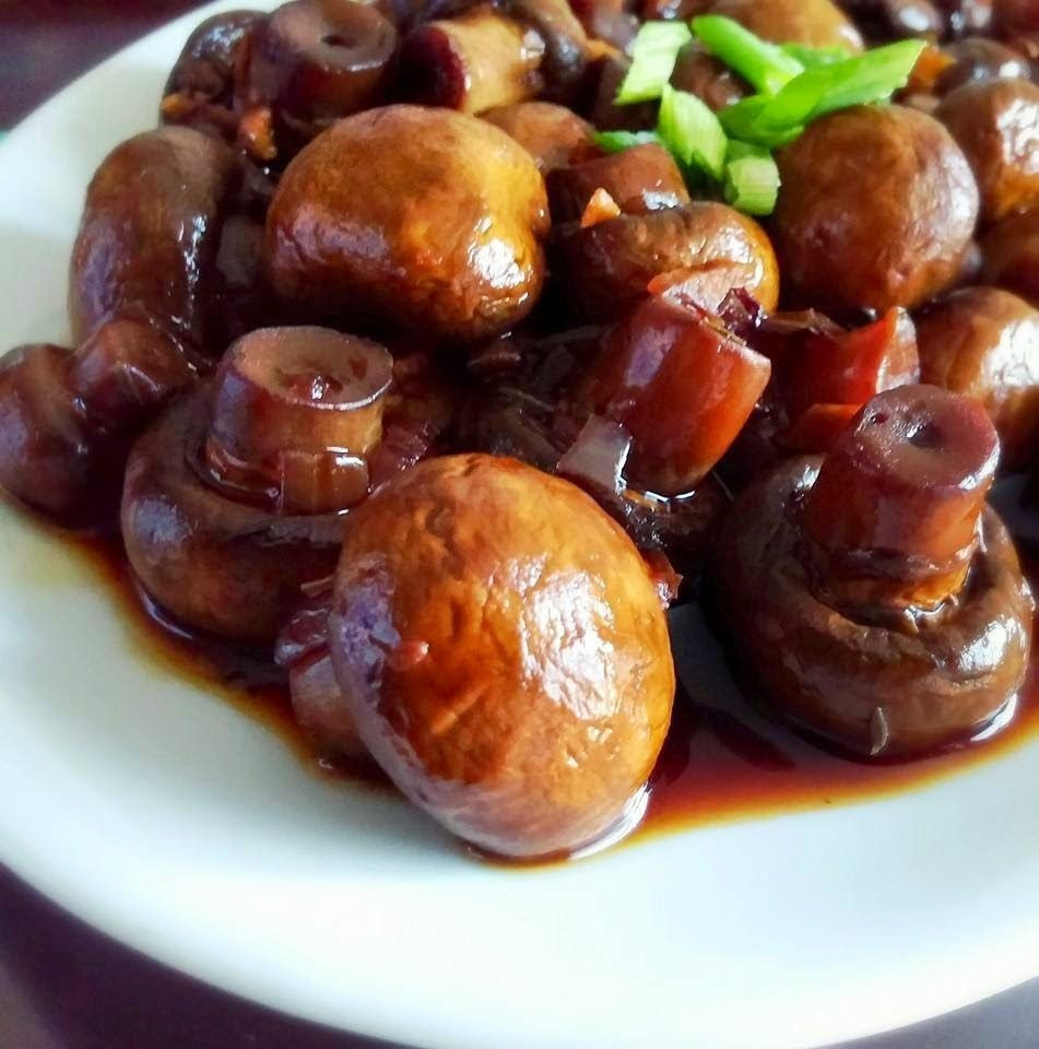 Crockpot Plant Based Recipes  Crock pot mushrooms