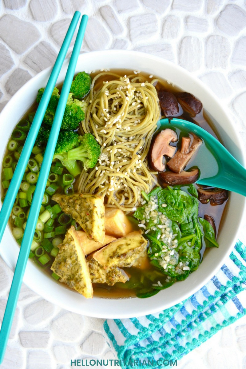 Dr Esselstyn Recipes Plant Based Diet  Nutritarian Pho Noodle Soup