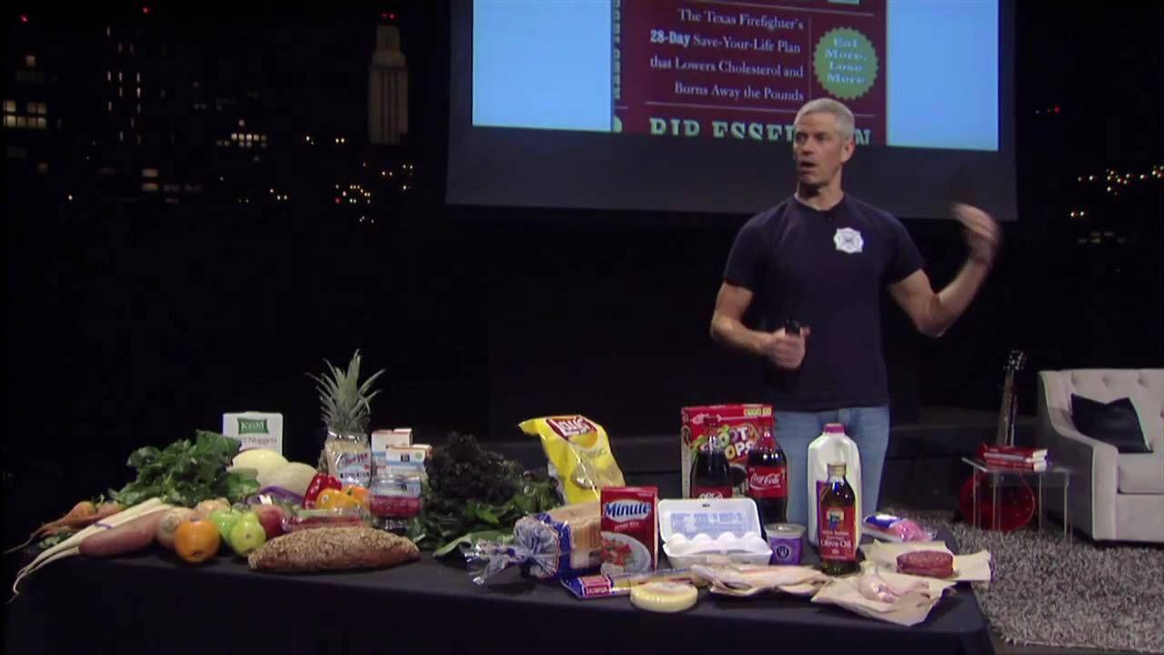 Dr Esselstyn Recipes Plant Based Diet  TEDxAustin Rip Esselstyn 02 20 10