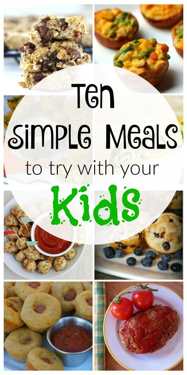 Easy Dinner Recipes For Kids  10 Simple Kid Friendly Meals