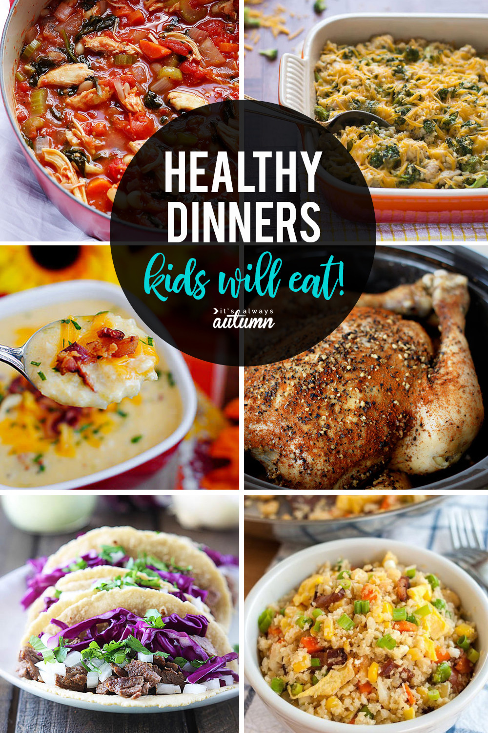 Easy Dinner Recipes For Kids  20 healthy easy recipes your kids will actually want to