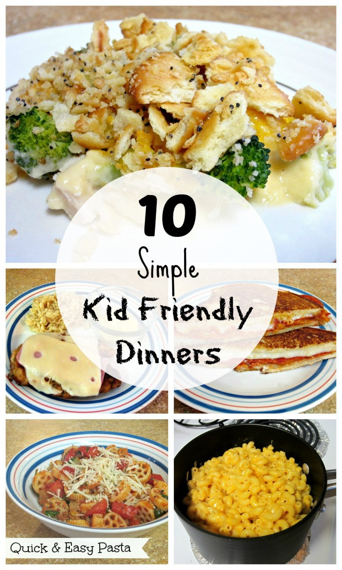 Easy Dinner Recipes For Kids  10 Simple Kid Friendly Dinners Love to be in the Kitchen