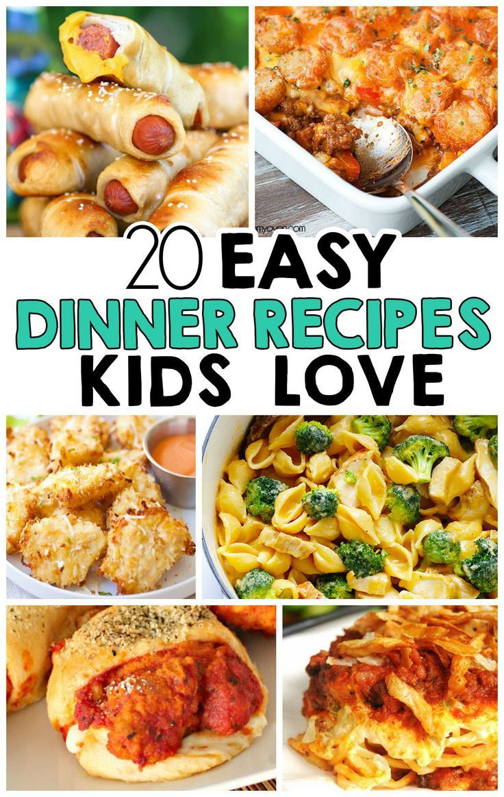 Easy Dinner Recipes For Kids  20 Easy Dinner Recipes That Kids Love