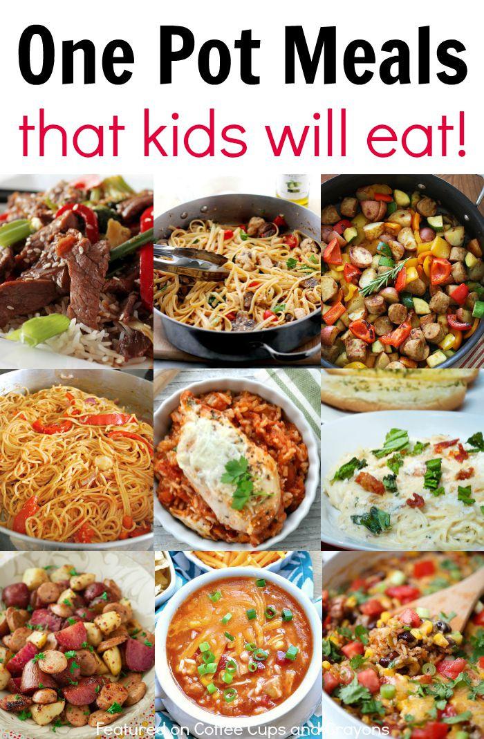 Easy Dinner Recipes For Kids  Kid Friendly e Pot Meals