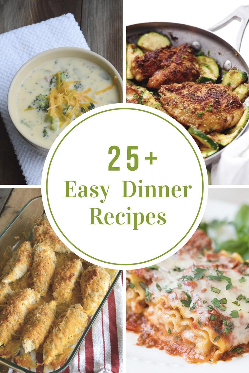 Easy Dinner Recipes Videos  Easy Weeknight Dinner Recipes The Idea Room
