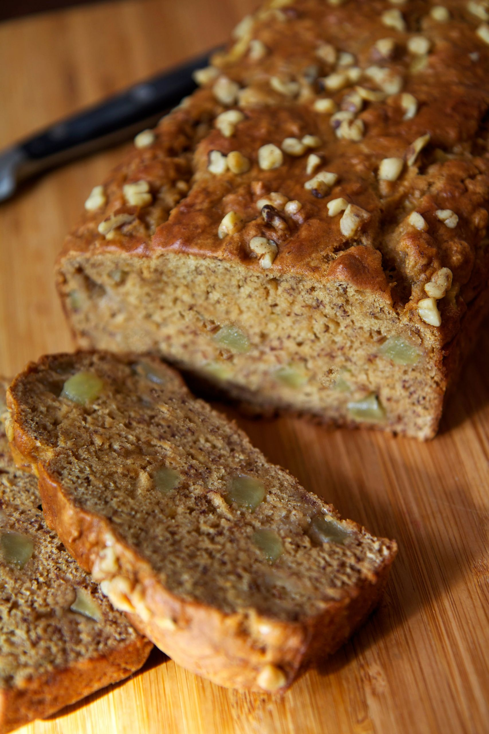 Easy Vegan Banana Bread  Easy And Healthy Vegan Banana Apple Chunk Bread Recipe