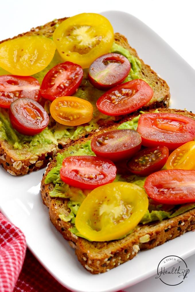 Easy Vegan Breakfast Healthy  Avocado Toast Quick Vegan Breakfast A Pinch of Healthy