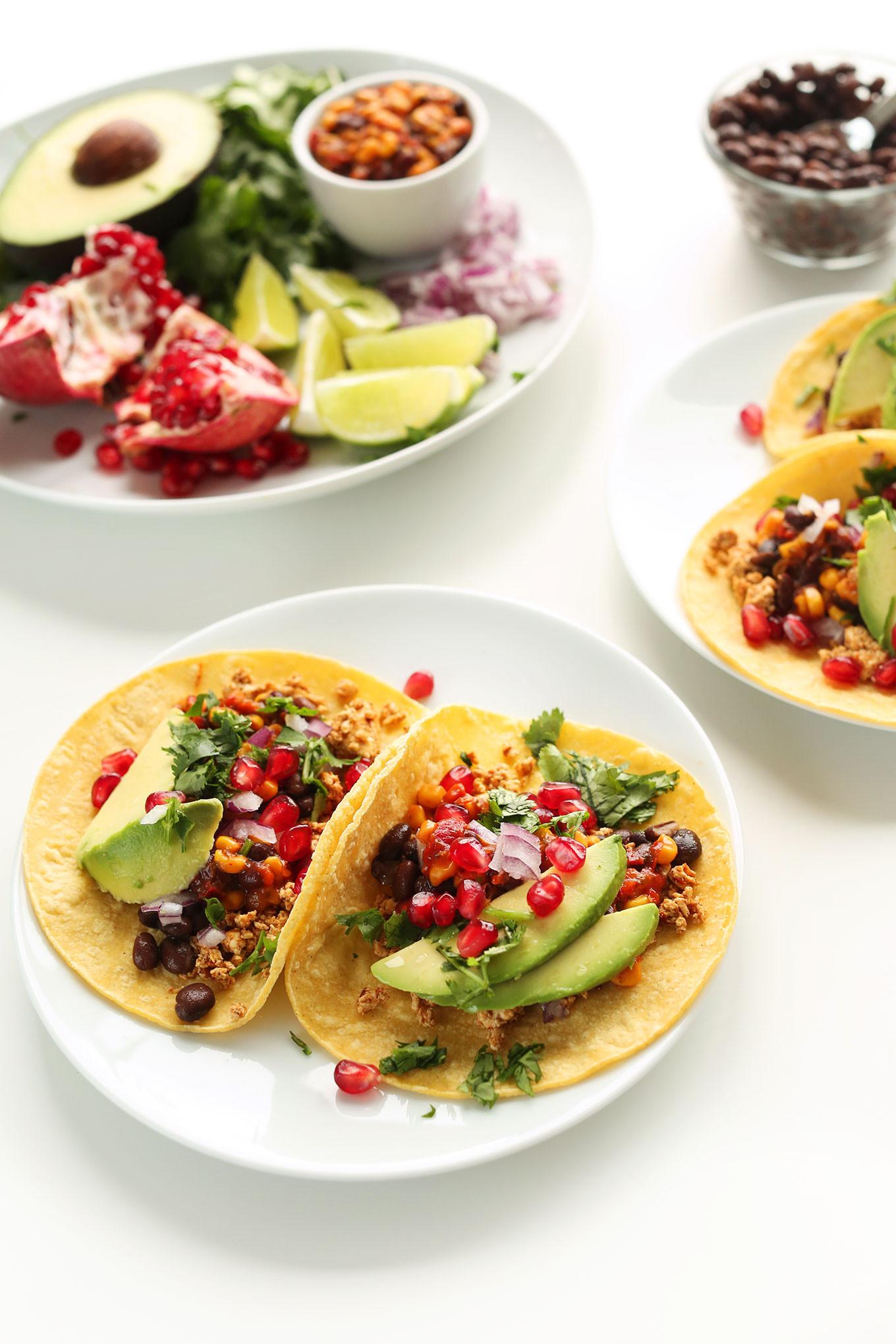 Easy Vegan Breakfast  Vegan Breakfast Tacos