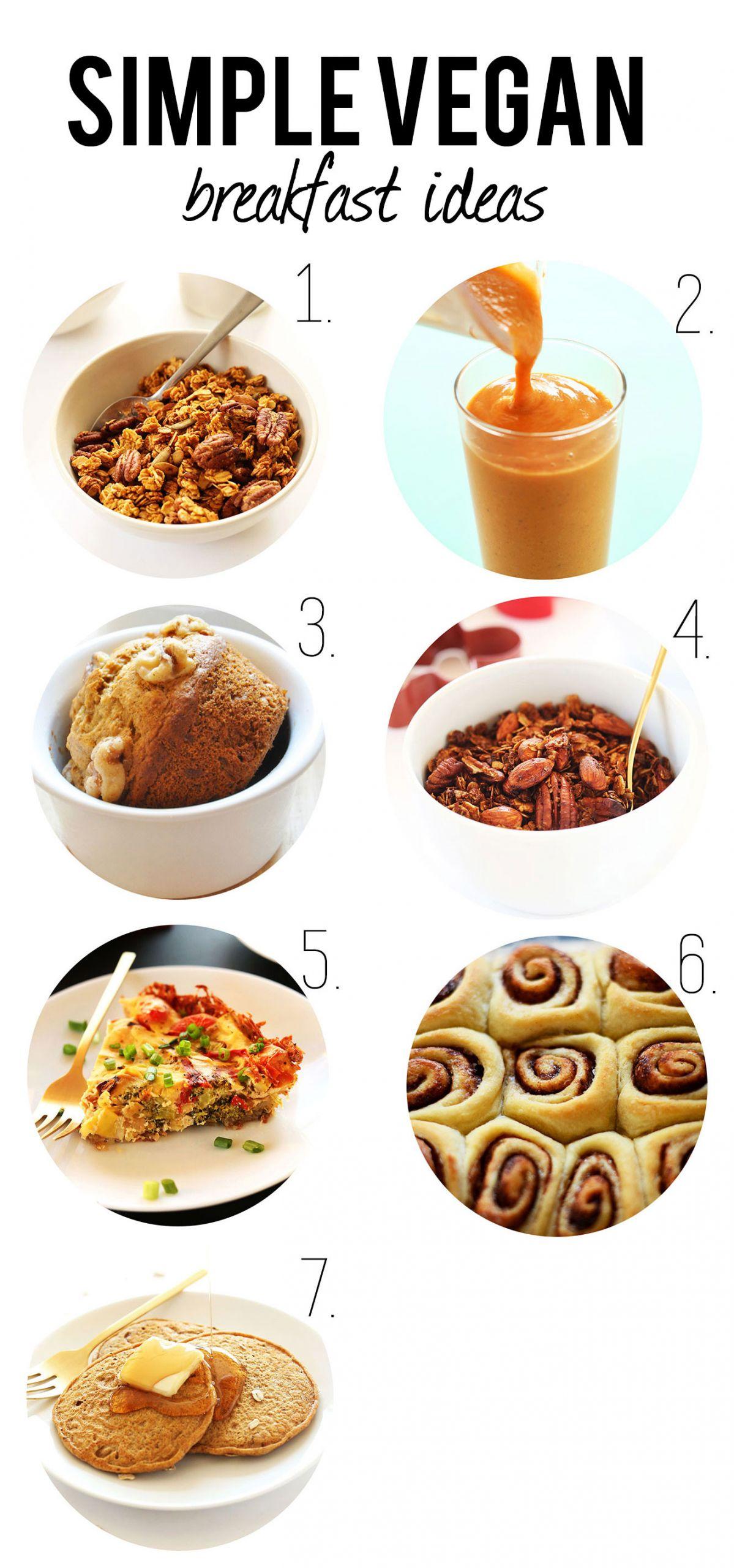 Easy Vegan Breakfast  Vegan Christmas Recipes