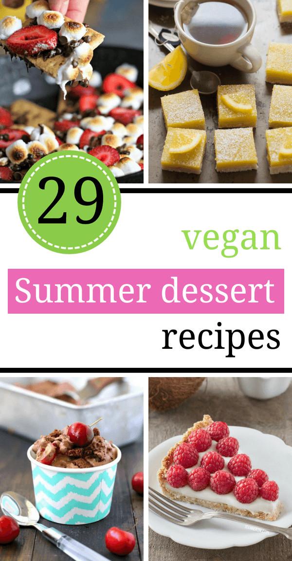 Easy Vegan Dessert Healthy  29 Easy Vegan Summer Dessert Recipes Light Few