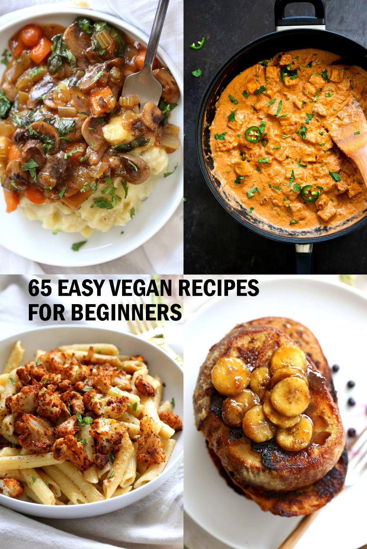 Easy Vegan Recipes For Beginners Simple  65 Easy Vegan Recipes for Beginners Vegan Richa